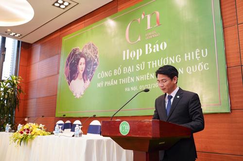 Ông Nguyễn Xuân Lộc – Tổng Giám đốc tập đoàn Panda phát biểu tại sự kiện.