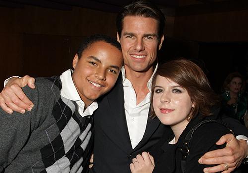 Jane Cruise và Connor Antony vẫn giữa mối quan hệ thân thiết vời cha nuôi Tom Cruise. Ảnh: Le Studio.