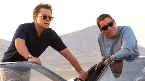 Matt Damon (trái) và Christian Bale là những linh hồn của phim về diễn xuất. Ảnh: Fox.