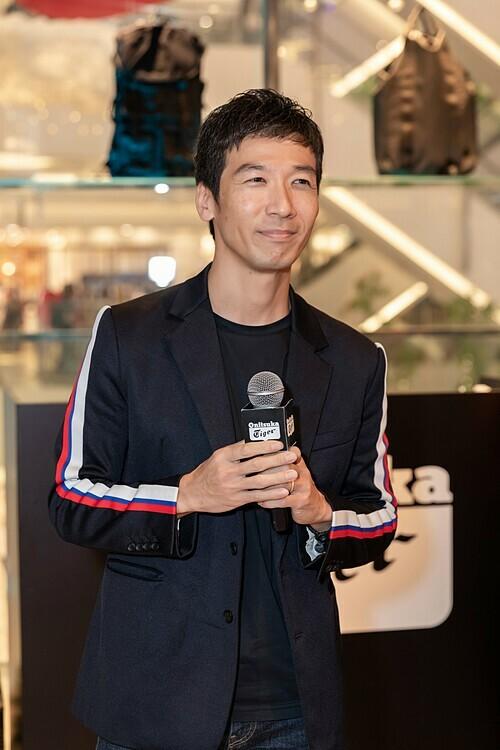 Ông Ryutaro Maruta - Giám đốc khu vực Đông Nam Á của Onitsuka Tiger tại sự kiện.