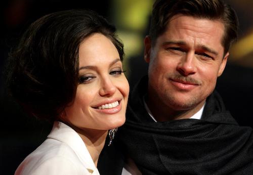 Brad Pitt và Angelina Jolie. Ảnh: Reuters.