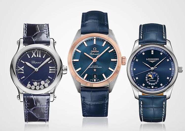 Phiên bản đồng hồ màu xanh cao cấp có giá 63-225 triệu đồng.