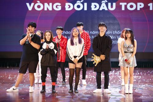 Top 5 đội vào vòng chung kết Kpop Dance For Youth.