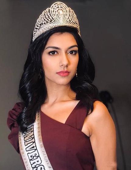 Hoa hậu Malaysia - Shweta Sekhon.