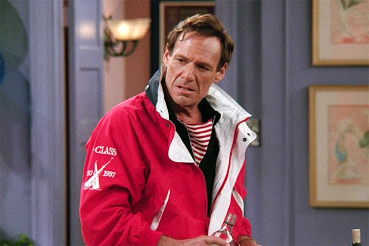 Nam diễn viên Ron Leibman trong vai bác sĩ Green, series Friends. Ảnh: NBC.