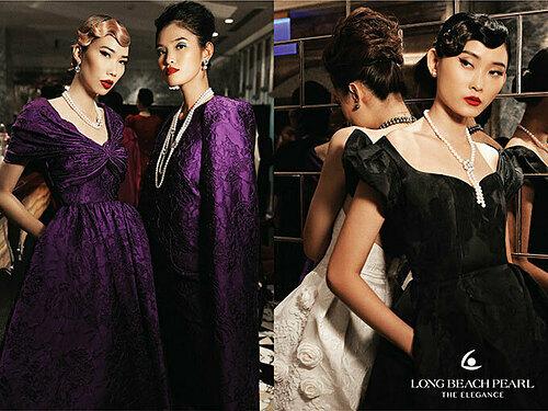 Hai nhà thiết kế cho biết họ say mê khám phá vẻ đẹp trang sức ngọc trai của thương hiệu Long Beach Pearl bởi sự phá cách, độc đáo cũng như thông điệp ý nghĩa hướng đến phái đẹp.