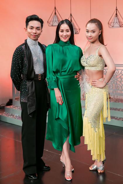 Từ trái sang: Phan Hiển, Khánh Thi, Nhã Khanh. Ảnh: Trương Gia Huy.