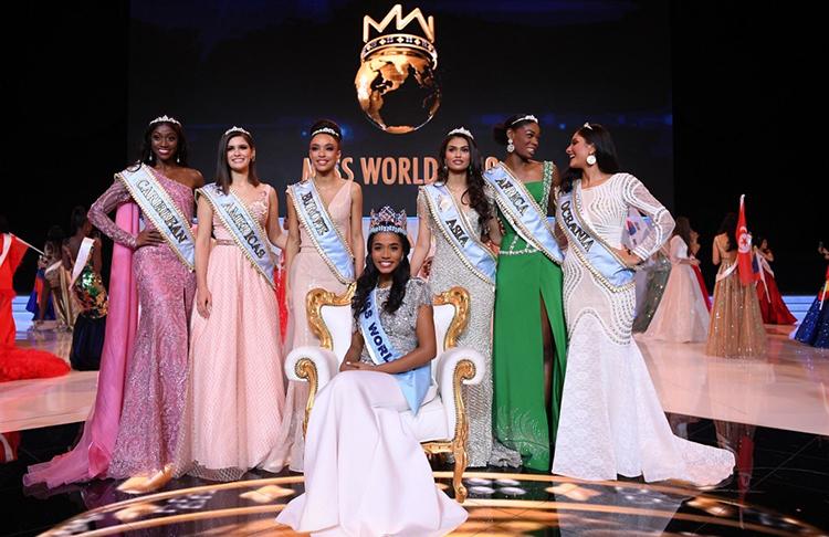 Người đẹp Jamaica - Toni-Ann Singh - đăng quang Miss World 2019Ảnh: AFP.