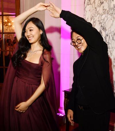 Lý Liên Kiệt và Jane - con đầu lòng với Lợi Trí. Cô đang học Đại học Harvard (Mỹ). Ảnh: Sina.