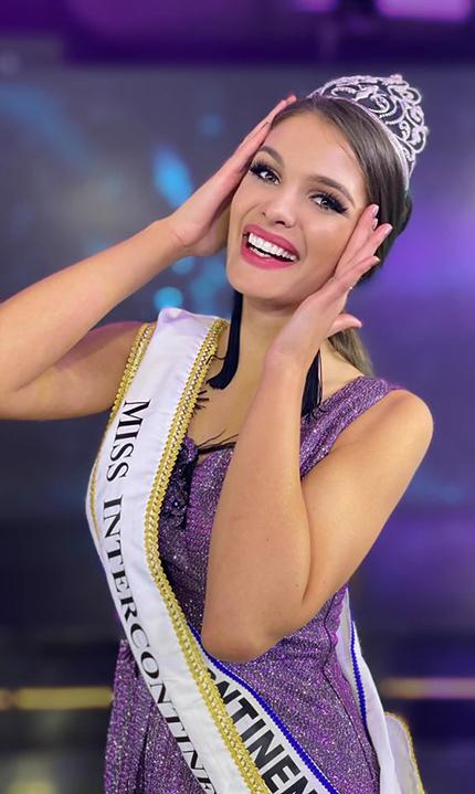 Fanni Miko trong đêm chung kết Miss Intercontinental. Ảnh: MI.