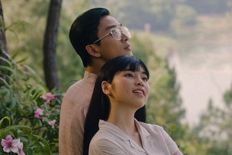 Trà Long (Khánh Vân đóng) và Ngạn (Trần Nghĩa) trong phim. Ảnh: TH.