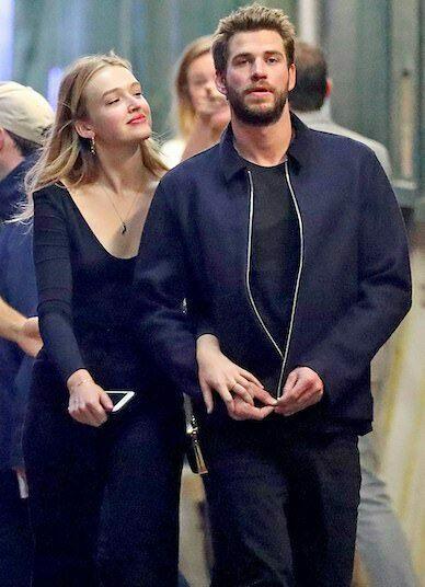 Liam Hemsworth và bạn gái mới Maddison Brown. Ảnh: Image Direct.