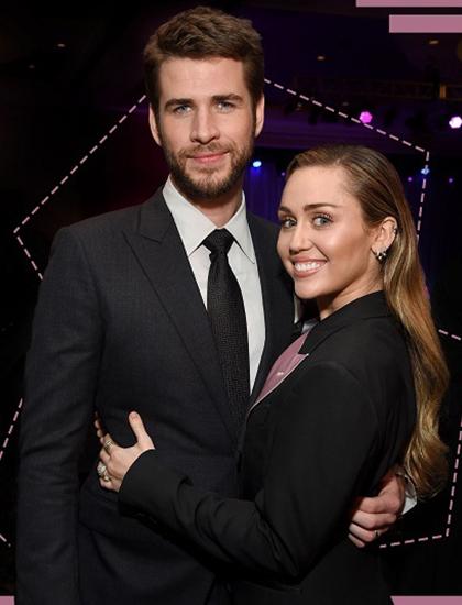 Liam Hemsworth và Miley Cyrus thời còn bên nhau. Ảnh: Refinery29.