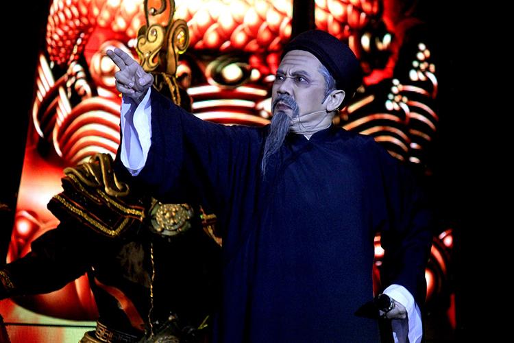 Nhạc kịch Tiên Nga là một nỗ lực thu hút khán giả của sân khấu Idecaf gần đây. Ảnh: Mai Nhật.