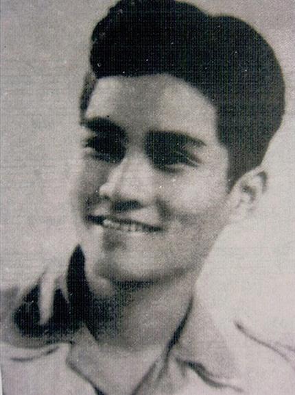 Nhạc sĩ Nguyễn Văn Tý thời trẻ. Ảnh: Tư liệu.
