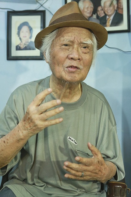 Nhạc sĩ Nguyễn Văn Tý sinh năm 1925, hưởng thọ 94 tuổi. Ảnh: TTVH.