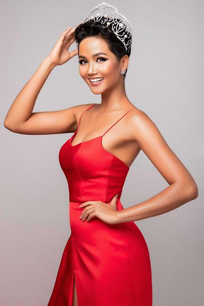 Hoa hậu HHen Niê từng lọt top 10 Miss Grand Slam 2018. Ảnh: MUV.