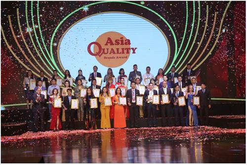 Lễ trao giải Thương hiệu chất lượng châu Á.
