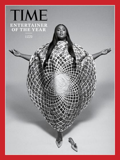 Tạp chí Time bình chọn Lizzo là Nghệ sĩ của năm 2019. Ảnh: Time.