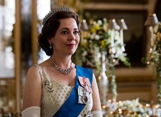 Colman trong vai nữ hoàng Elizabeth II. Ảnh: Netflix.