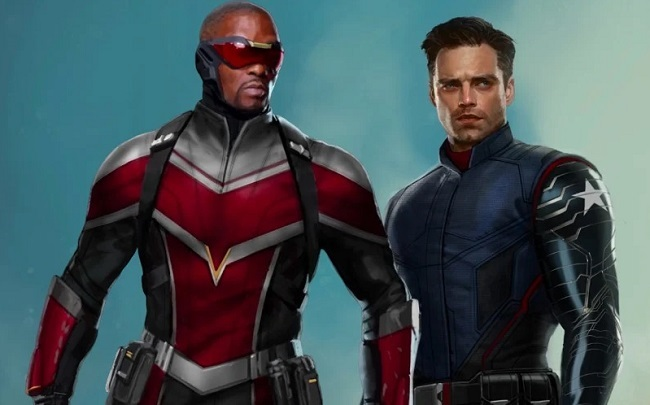 Falcon (trái) và Winter Soldier. Ảnh: Disney.