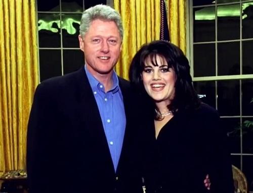 Bill Clinton và Monica Lewinsky thời cô còn làm việc ở Nhà Trắng. Ảnh tư liệu.
