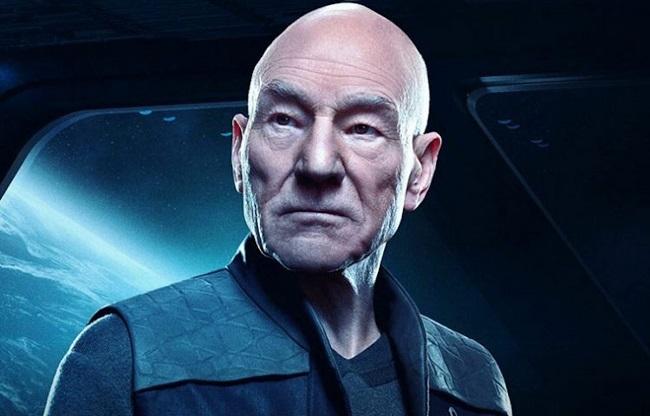 Patrick Stewart trong vai Picard. Ảnh: CBS.