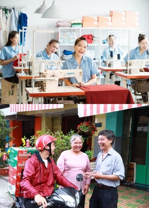 Người lao động đủ ngành nghề góp mặt trong MV Đường đến ngày vinh quang.