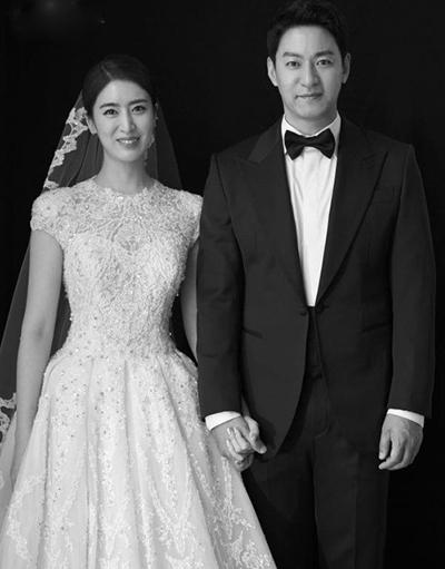 Vợ chồng Joo Jin Mo. Ảnh: Osen.