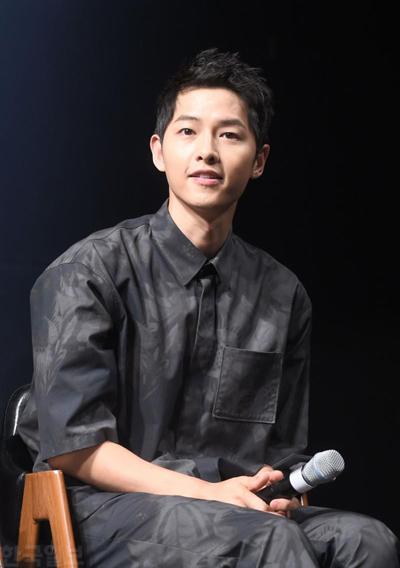 Tài tử Song Joong Ki. Ảnh: Hankookilbo.