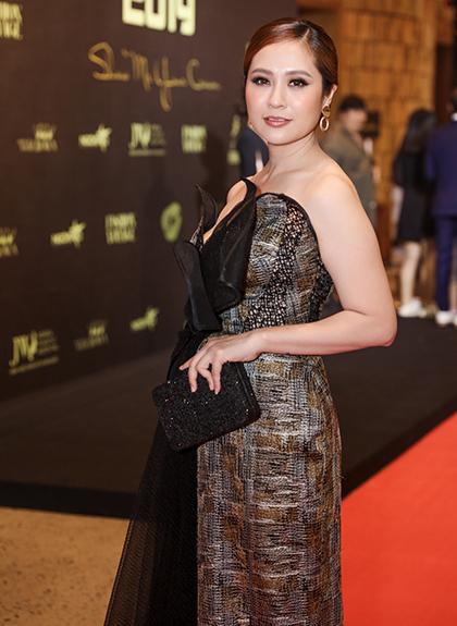 Diễn viên Thanh là một trong số giám khảo của chương trình năm nay.