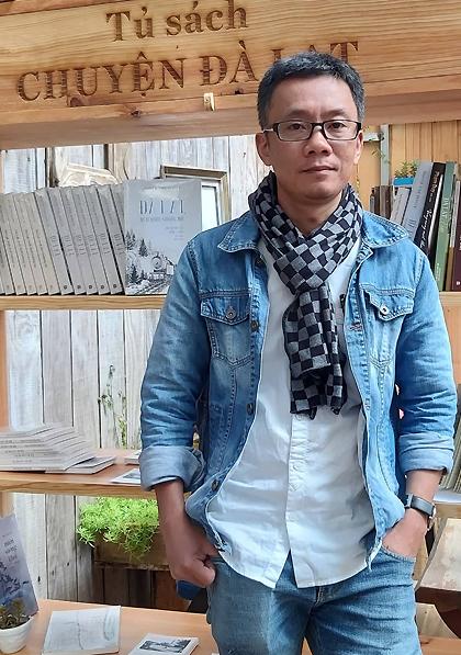 Tác giả Nguyễn Vĩnh Nguyễn. Ảnh: NVN.