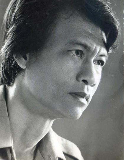 Nhạc sĩ Triều Dâng thời trẻ. Ảnh tư liệu.