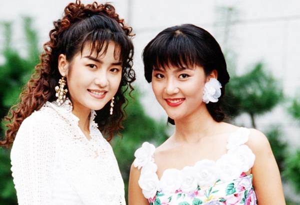 Yum Jung Ah và Go Hyun Jung - Á hậu Hàn Quốc 1989.
