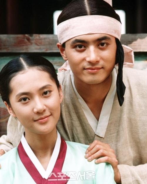 Năm 1993, Jang Dong Gun và Yum Jung Ah đóng vai tình nhântrong phim cổ trang Iljimae.