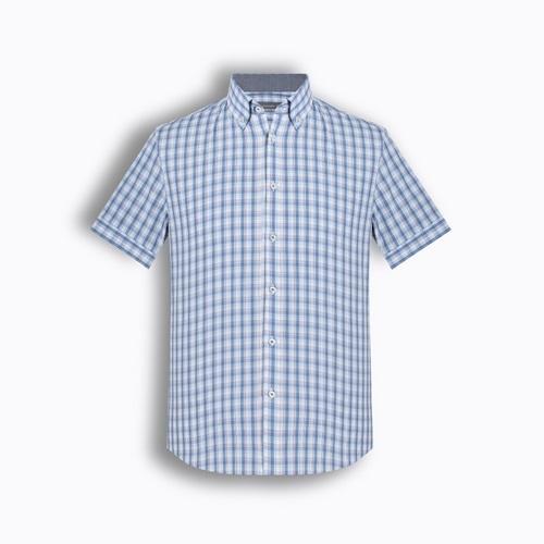 Áo sơ mi nam tay ngắn họa tiết The Shirts Studio TD42F2112BL095 nhập khẩu chính hãng từ Hàn Quốc, thiết kế trẻ trung, chất liệu cao cấp, bền đẹp, đường may tỉ mỉ, dáng cổ điển. Sản phẩm giảm đến 33%, còn 199.000 đồng (giá gốc299.000).