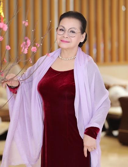 Danh ca Khánh Ly tại Hà Nội vào ngày giáp Tết Canh Tý 2020. Ảnh: Hòa Nguyễn.