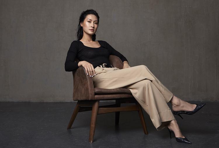 Kathy Uyên làm đạo diễn phim Chị chị em em. Ảnh:Trung Nguyễn.