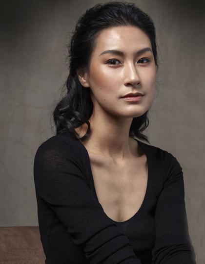 Kathy Uyên. Ảnh:Trung Nguyễn.