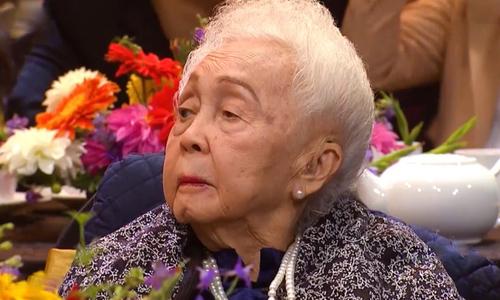 Người mẹ 102 tuổi trêu Đặng Thái Sơn