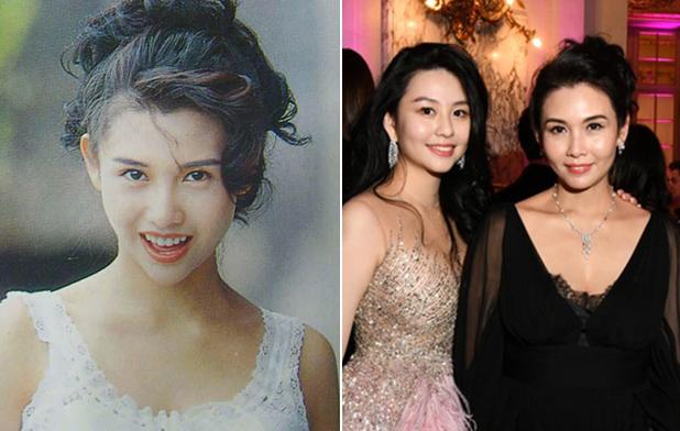 Khâu Thục Trinh (sinh năm 1968) hiện cùng chồng kinh doanh công ty thời trang. Theo On, cô nắm tài sản khoảng 300 triệu USD. Cuối năm ngoái, Thục Trinh (phải) đưa con gái - Thẩm Nguyệt - dự Vũ hội Lebal - sự kiện dành cho giới thượng lưu tổ chức ở Pháp.