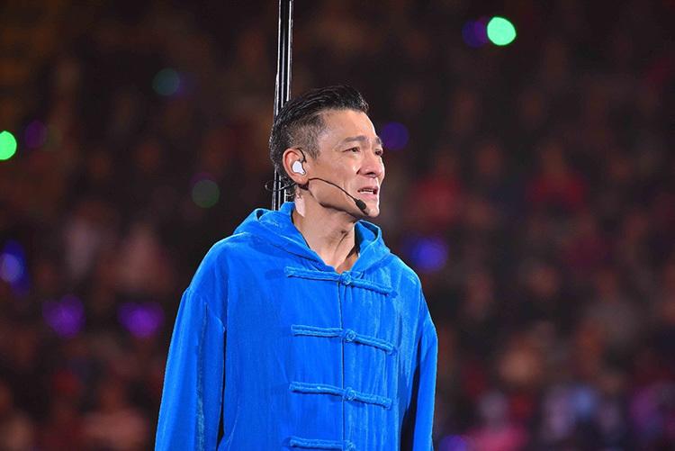 Lưu Đức Hoa tại liveshow năm 2019. Ảnh: HK01.