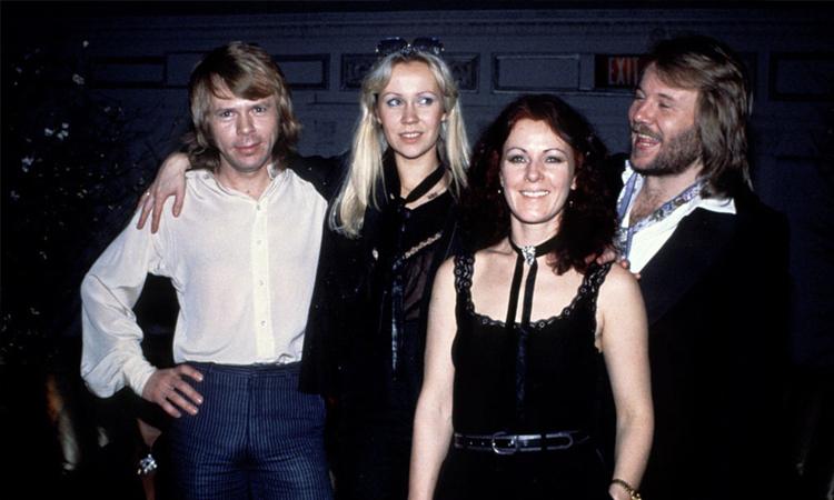 Nhóm nhạc ABBA. Ảnh: Press.