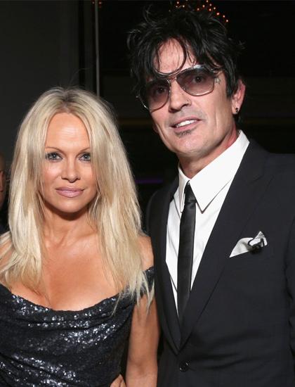 Hai người là vợ chồng trong ba năm, trước khi ly dị năm 1998. Suốt thời gian đó, cặp sao vướng nhiều scandal như lộ video giường chiếu, cãi vã. Tommy từng phải ngồi tù sáu tháng vì đánh vợ. Năm 2008, hai người tái hợp một thời gian ngắn nhưng không kết hôn. Năm 2015, Pamela nói với tờ People Tommy là tình yêu lớn nhất đời cô.