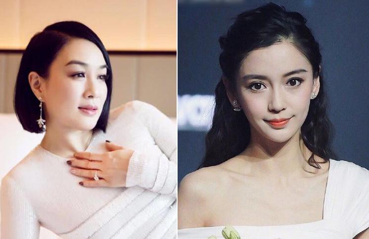 Chung Lệ Đề (trái), Angelababy cùng dàn sao thể hiện thương tiếc bác sĩLý Văn Lượng. Ảnh: Weibo.