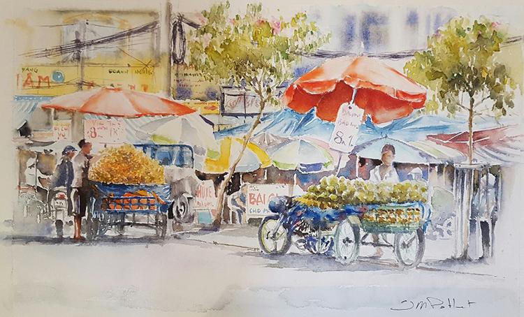 Họa sĩ từng được mời tham gia các buổi workshop vẽ tranh vớihọa sĩ Việt, giao lưu chia sẻ kinh nghiệm, hướng dẫn dạy vẽ cho học sinh...