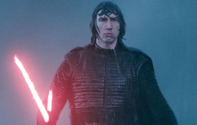 Adam Driver trong loạt Star Wars. Ảnh: Disney.