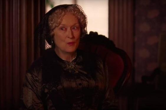 Dù ít đất diễn, Meryl Streep vẫn ghi dấu nhờ nhiều câu thoại sắc sảo. Ảnh: Sony.