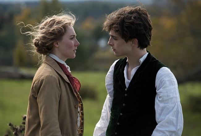 Timothée Chalamet (phải) là sao trẻ đang thăng tiến ở Hollywood. Ảnh: Sony.