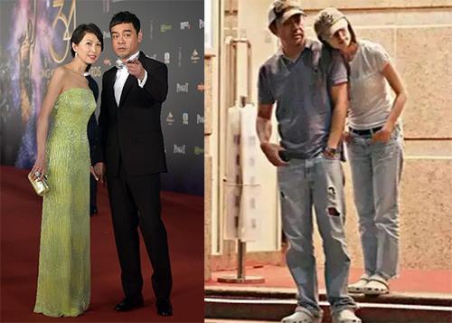 Đôi vợ chồng khi tham gia sự kiện và trong đời thường. Ảnh:Xinhua.
